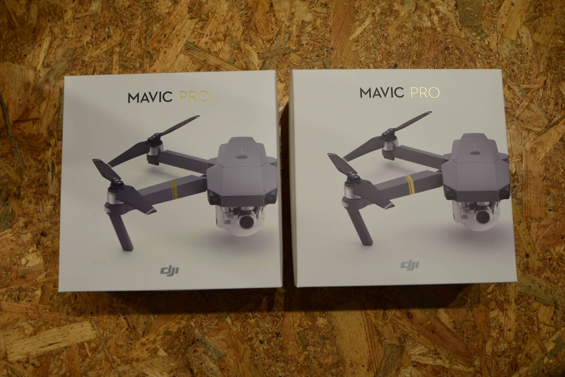 DJI製ドローン「Mavic Pro」2台の外観