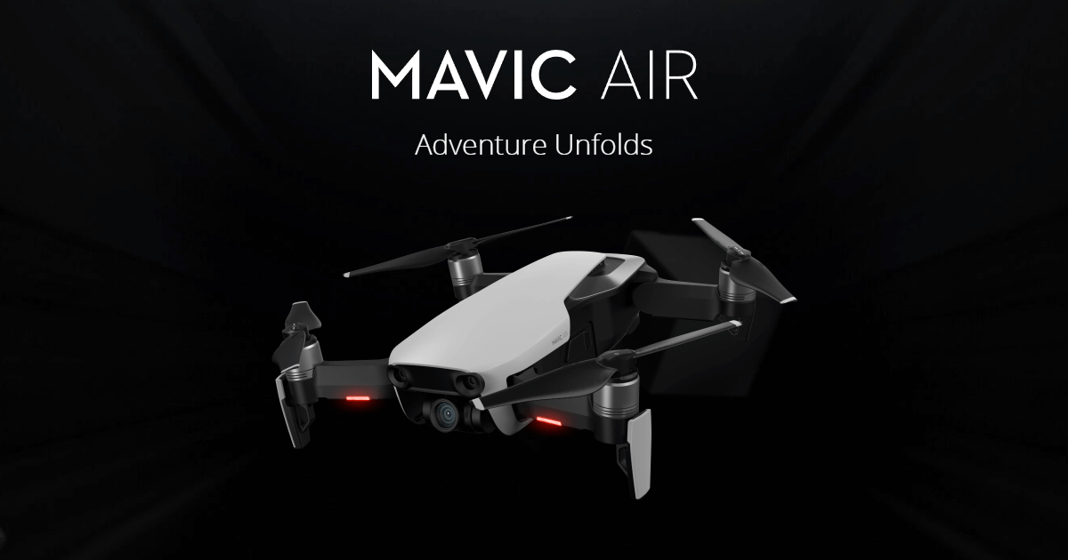 DJI「Mavic Air」の写真画像