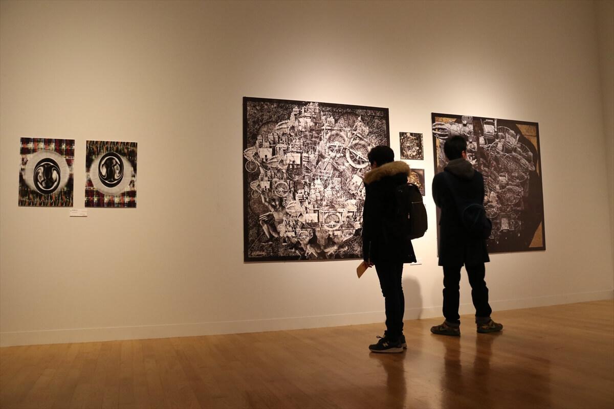 展示されていた静止画部門の受賞作品の写真③