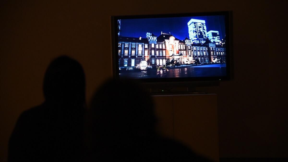 福岡アジア美術館で流された弊社の映像作品