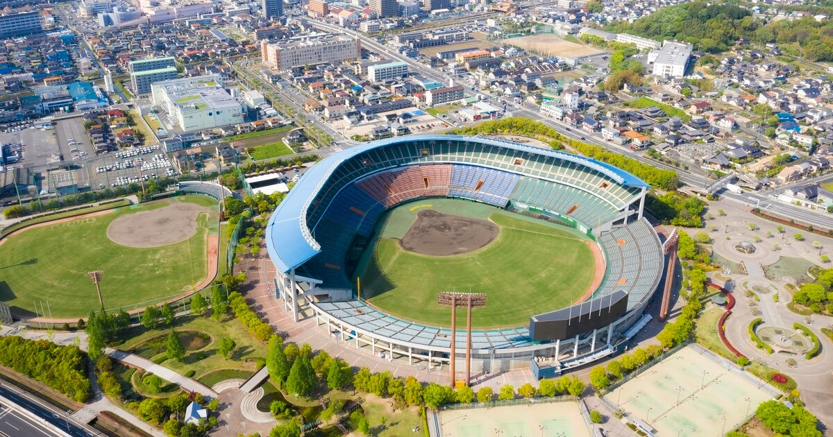 制作実績:岡山県倉敷市中庄で撮影した分譲地/不動産系のドローン空撮写真のサムネイル画像