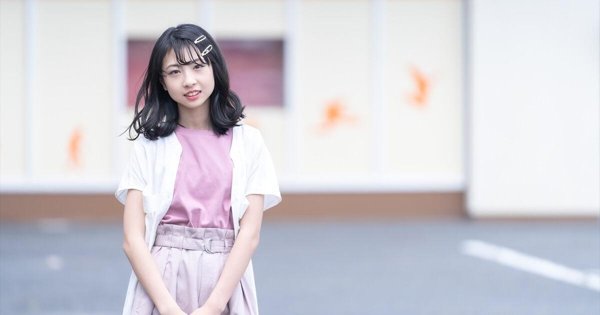小学生アイドルの宣材写真事例(横長)
