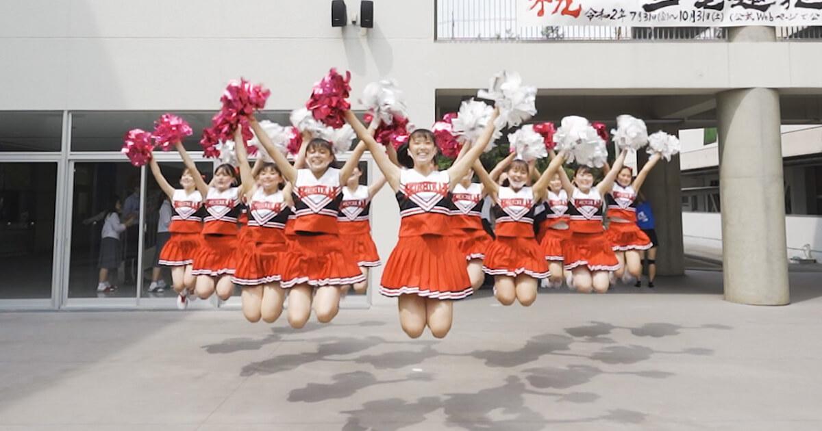 「映像制作事例:広島県立福山誠之館高校オープンスクールのメイキング映像制作」のサムネイル画像